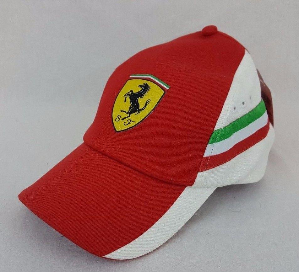 60e1d705e53 Puma Ferrari Team Cap Motorsports Rosso Corsa F1 Formula 1 Racing Red Hat   Puma  Ferrari  f1  formula1