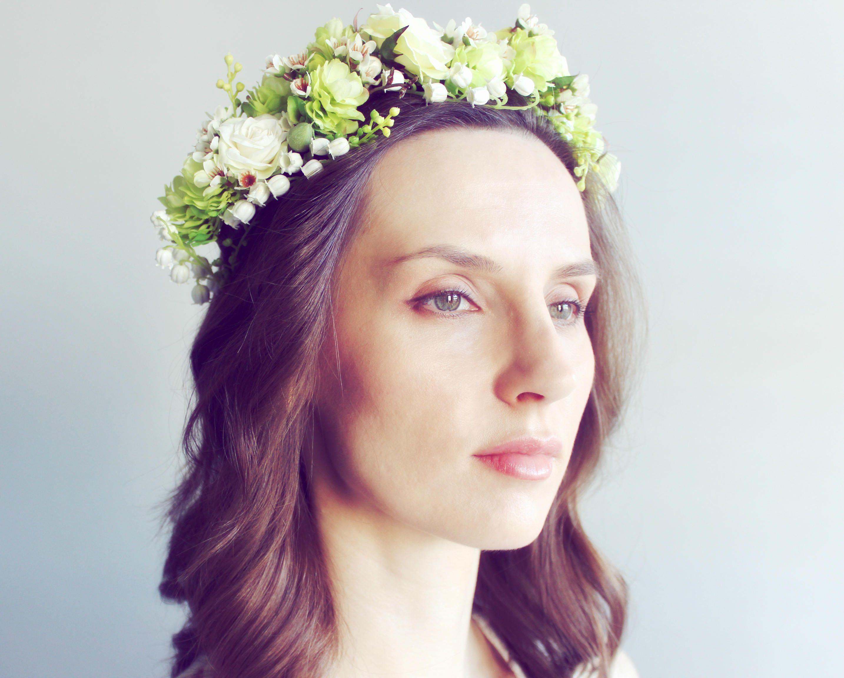 Lush woodland wedding flower crown wildflower crowns pinterest lush woodland wedding flower crown izmirmasajfo