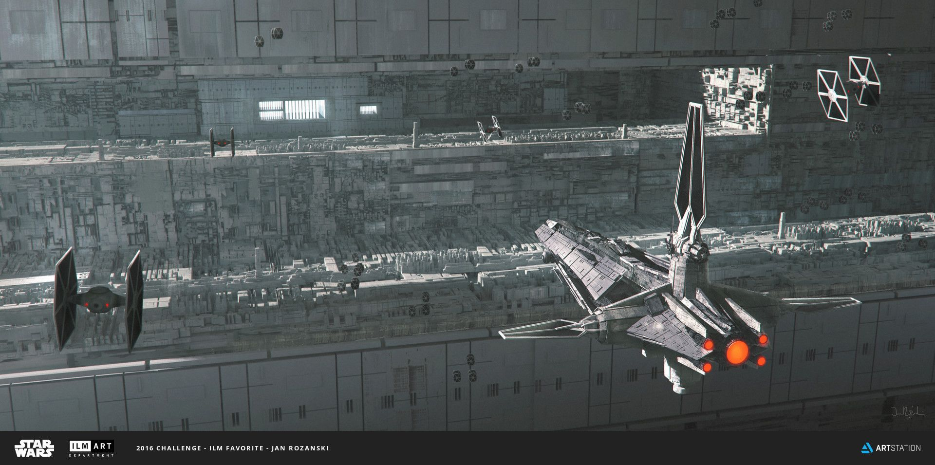 Jan Rozanski | ILM Favorites, Jan Rozanski on ArtStation at…