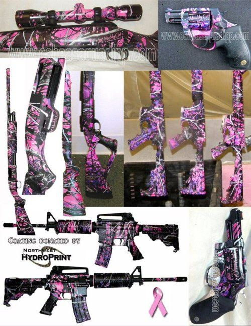 pink guns :)