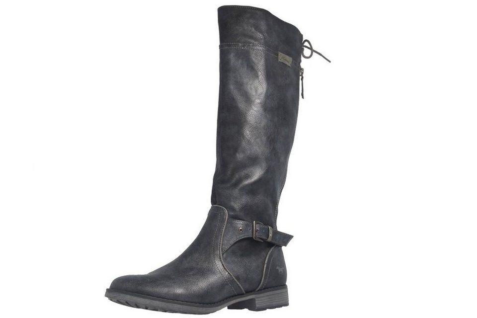 Damen online Mustang Shoes Boots in Übergrößen große