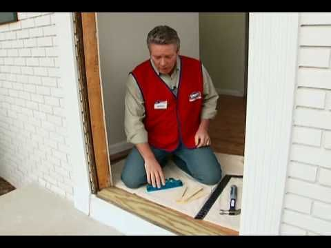 How To Install A Pre Hung Exterior Door Video Diy Tips