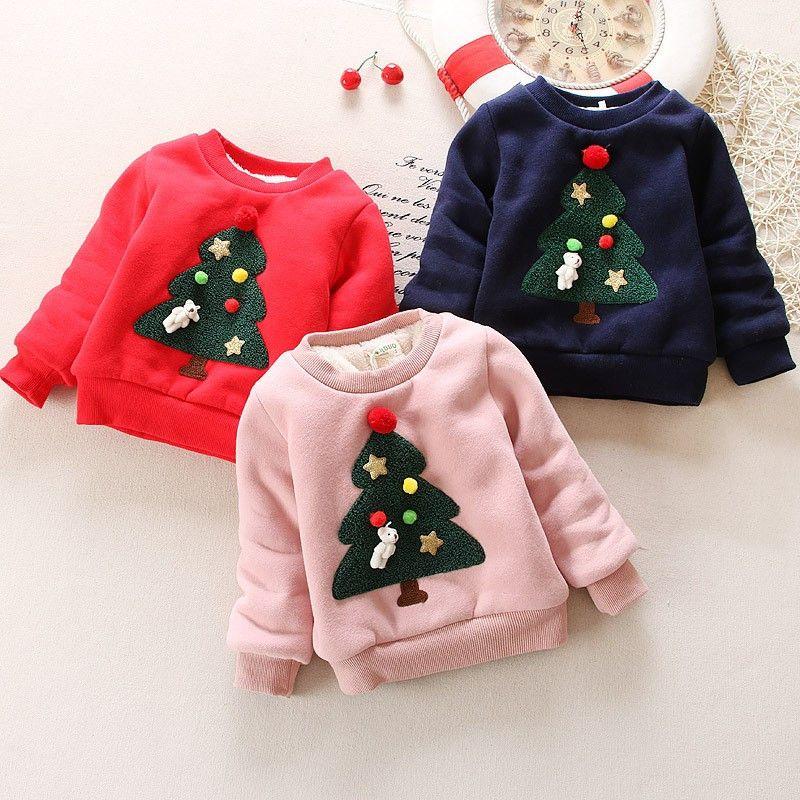 e3614fc68997 BibiCola Baby Girls Sweaters Winter 2017 New Toddler Girl Long ...