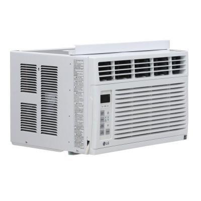 Lg Electronics 6 000 Btu 115 Volt Window Air Conditioner With Remote Lw6015er Window Air Conditioner Cool Rooms Windows