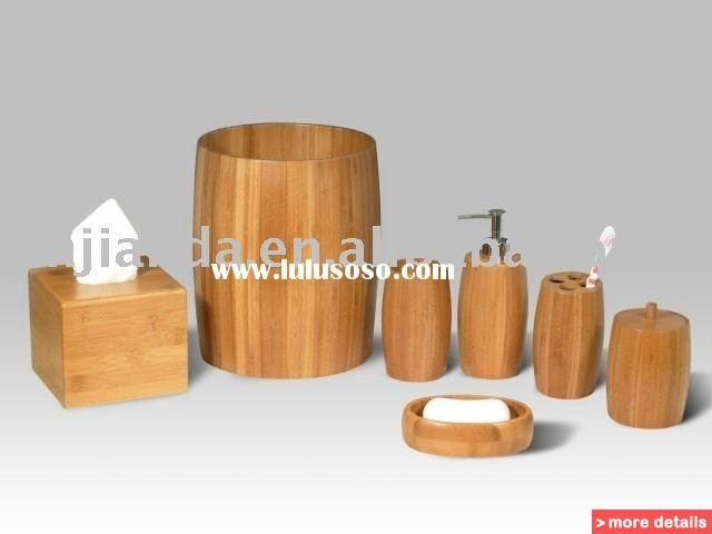 bathroom accessories set online australia - Wooden Bathroom Accessories Uk