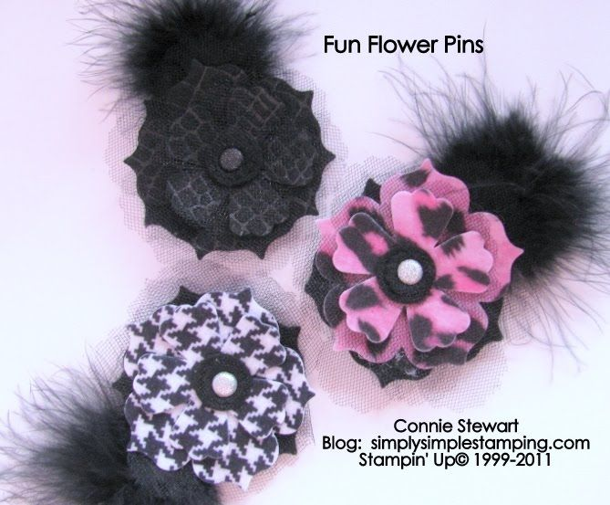 SIMPLY SIMPLE STAMPING with Connie Stewart: Flowers