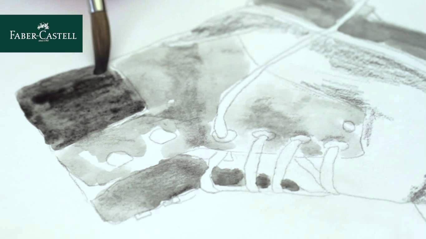Faber Castell Graphite Watercolor Pencils Aquarelles Faber