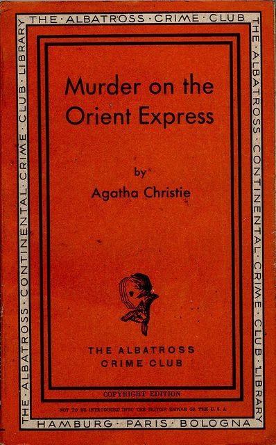 The Albatross Crime Club 124 Copyright Edition Murder