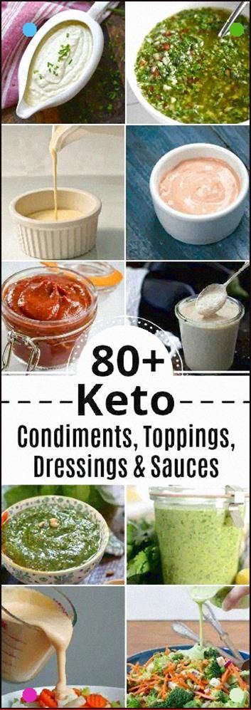 80 Keto Condiments, Toppings, Dressings and Sauces Is A Great Resource For All Keto Cooking Just Pin This Post, And Come Back To It Every Time You Need A Sauce, Topping, Condiment Or Dressing To Make Your Keto Cooking Special Eat Beautiful #Keto #Toppings #Sauce #Condiments #Dressings