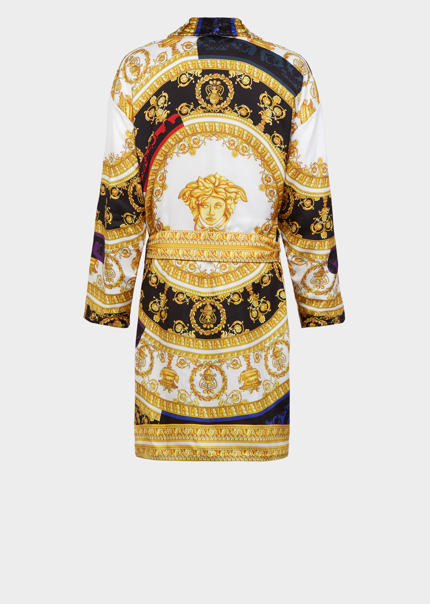 e677e3c250 Silk I ♡ Baroque Bathrobe - Gold Bathrobes
