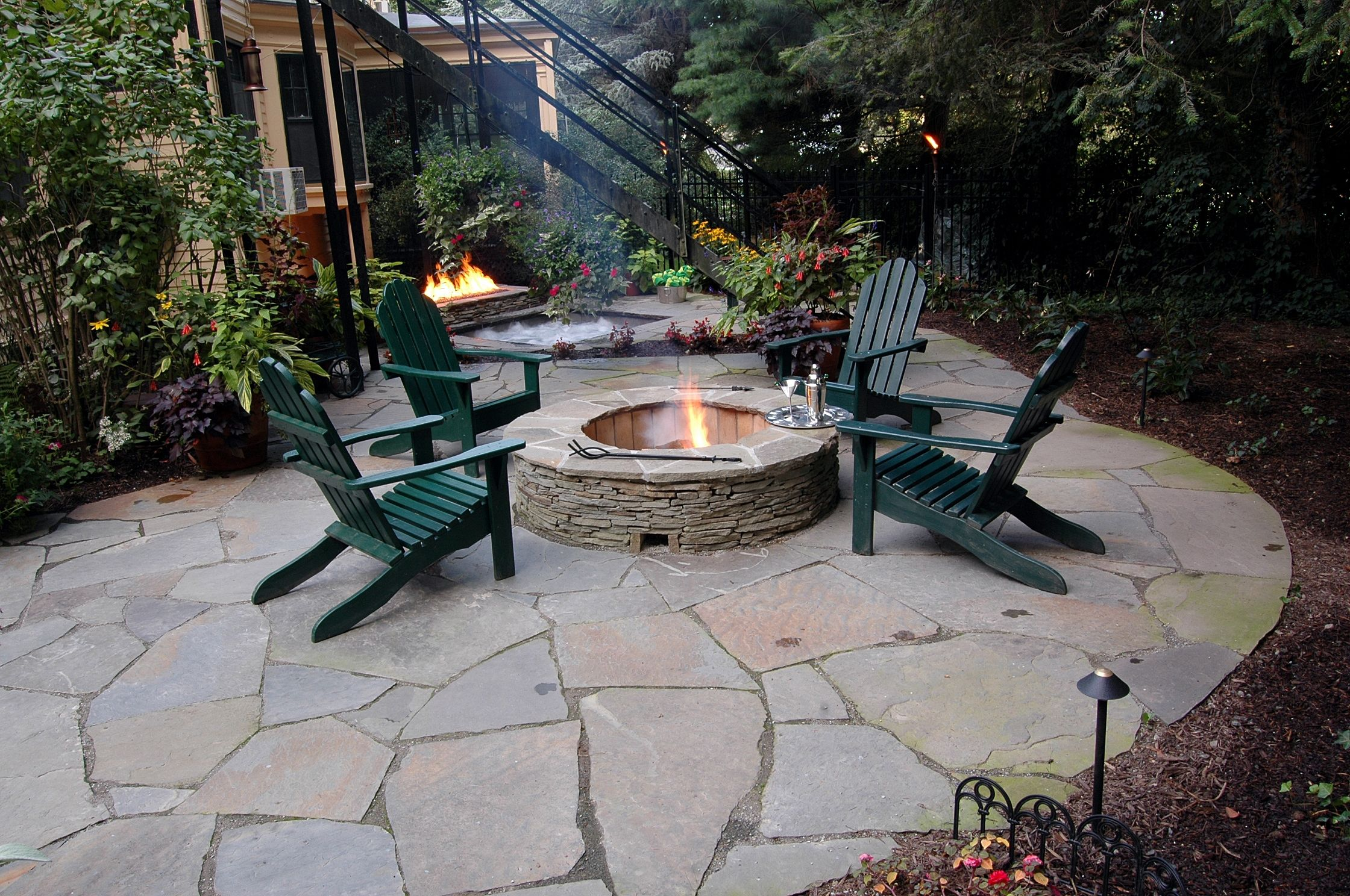 Fire Pit From Winterberry Gardens