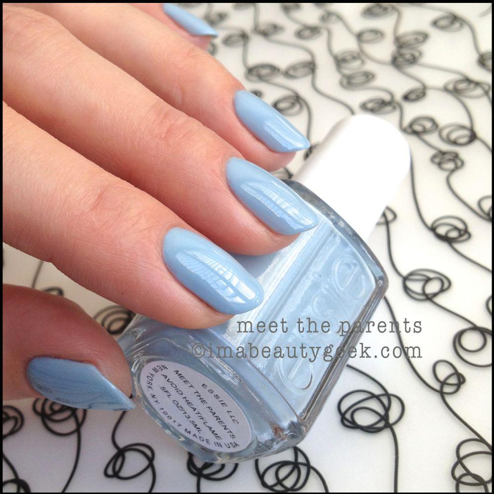 Essie Nail Polish Light Blue | Nail Arts | Claws | Pinterest | Essie ...