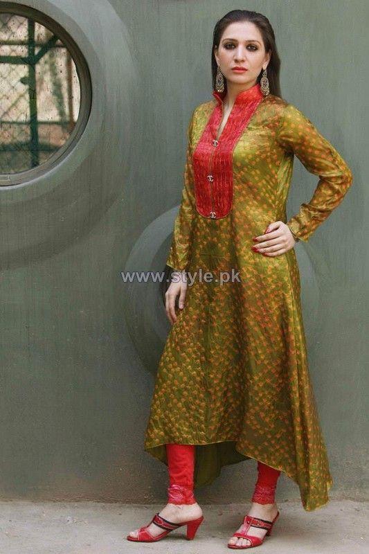 Ferozeh Silk Chunri Dresses 2014 For Women   Places to Visit