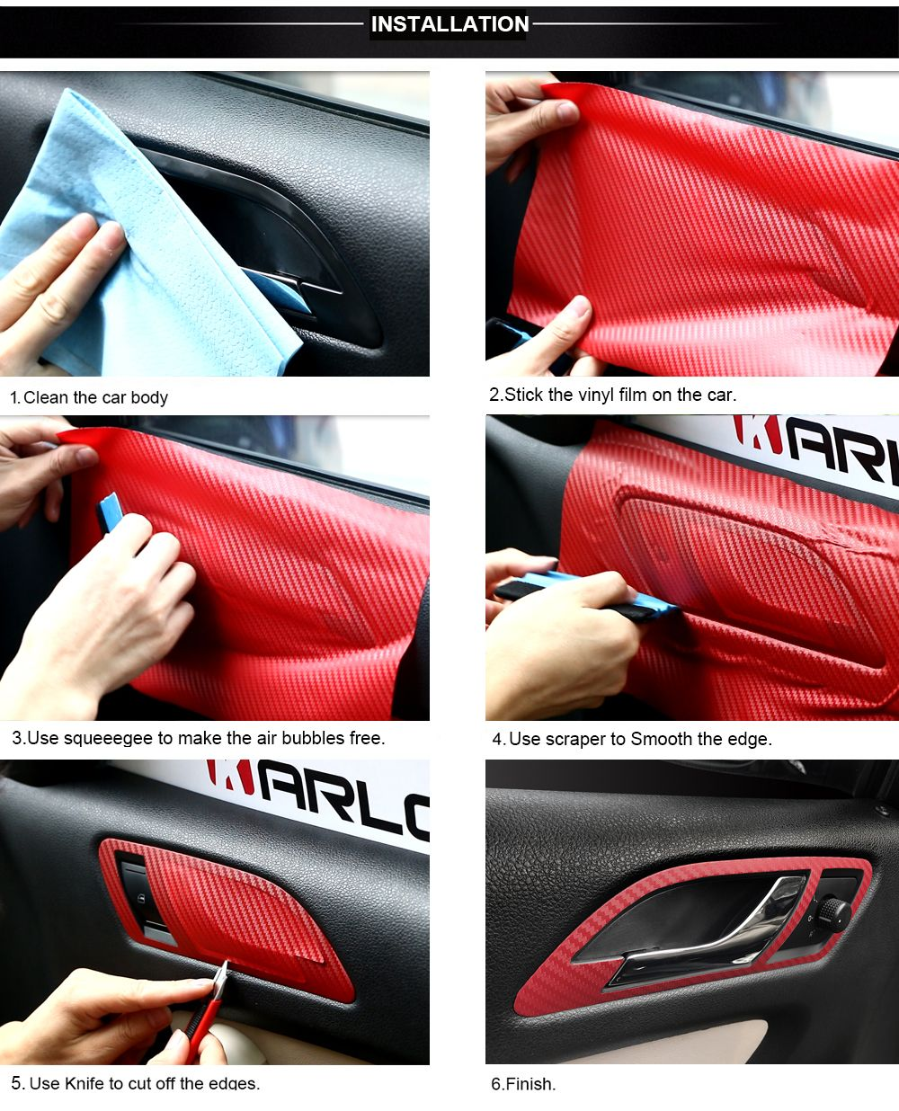 5x Audi Ring Sticker for leather seats and other flat and smooth surfaces
