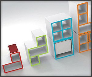 This Clever Table And Chairs And Drawers Combo Furniture Called T@tris By Pedro  Machado, Obviously Inspired By The Tetris Game.