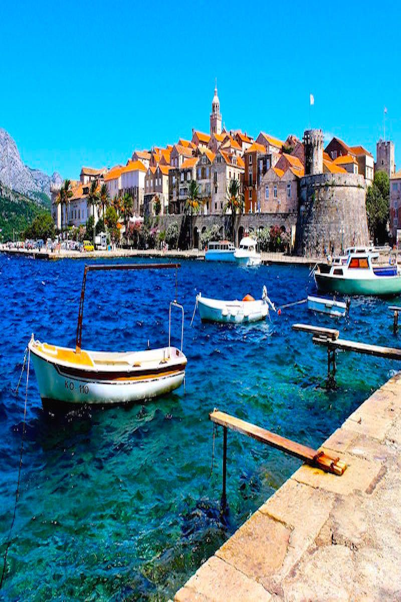 Soaking up the Croatian Sun in Korčula Places to travel
