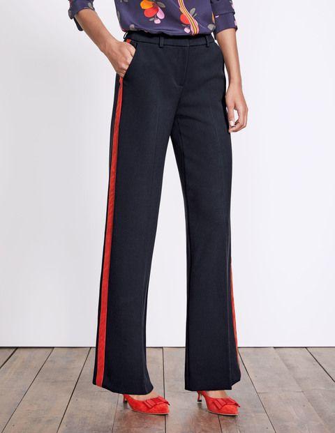 Charlbury Hose Mit Weitem Bein Breite Beine Hosen Modische Outfits Und Hosen