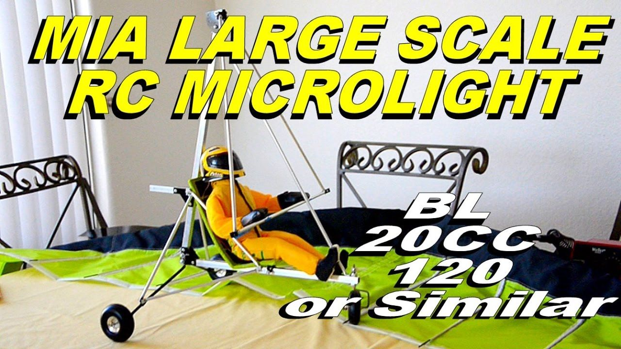 RC Microlight Large Scale Project BL 20CC 120 Twin 2 | rc