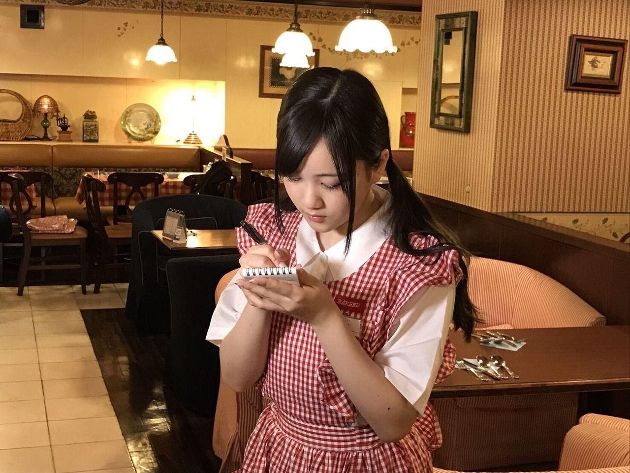 omiansary27: My first baito Minami-chan   日々是遊楽也