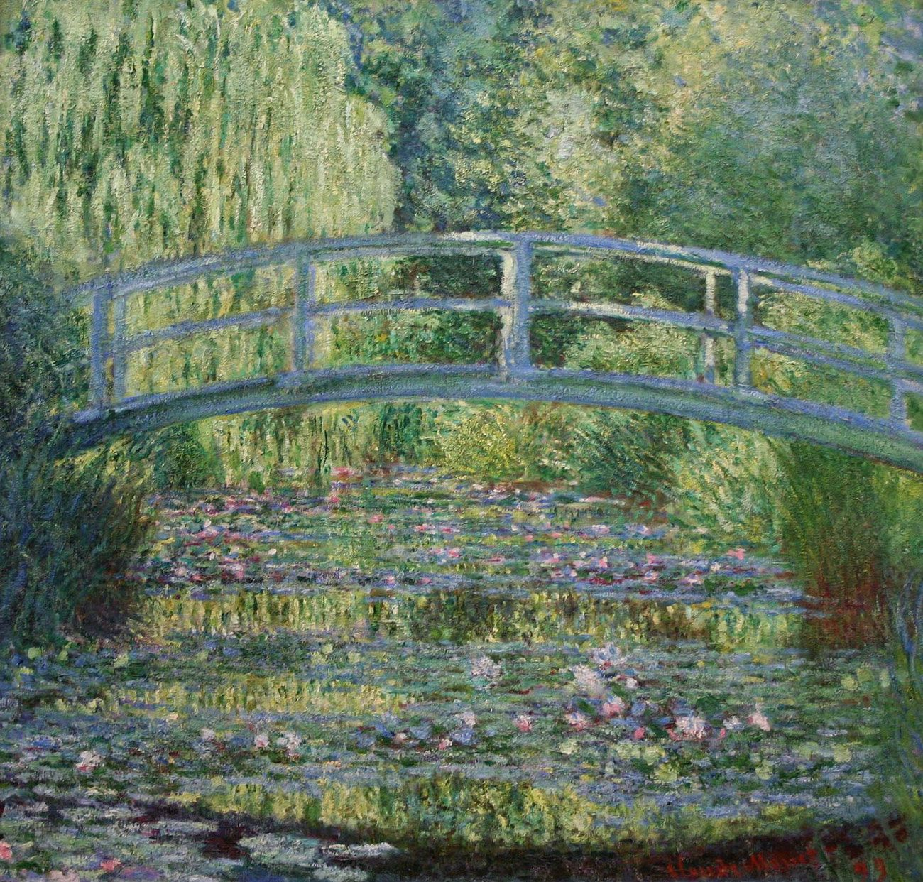 Monet loved painting the garden at his home in giverny for Monet home