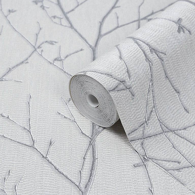 Schoner Wohnen Dandelion Grey, White & Yellow Wallpaper