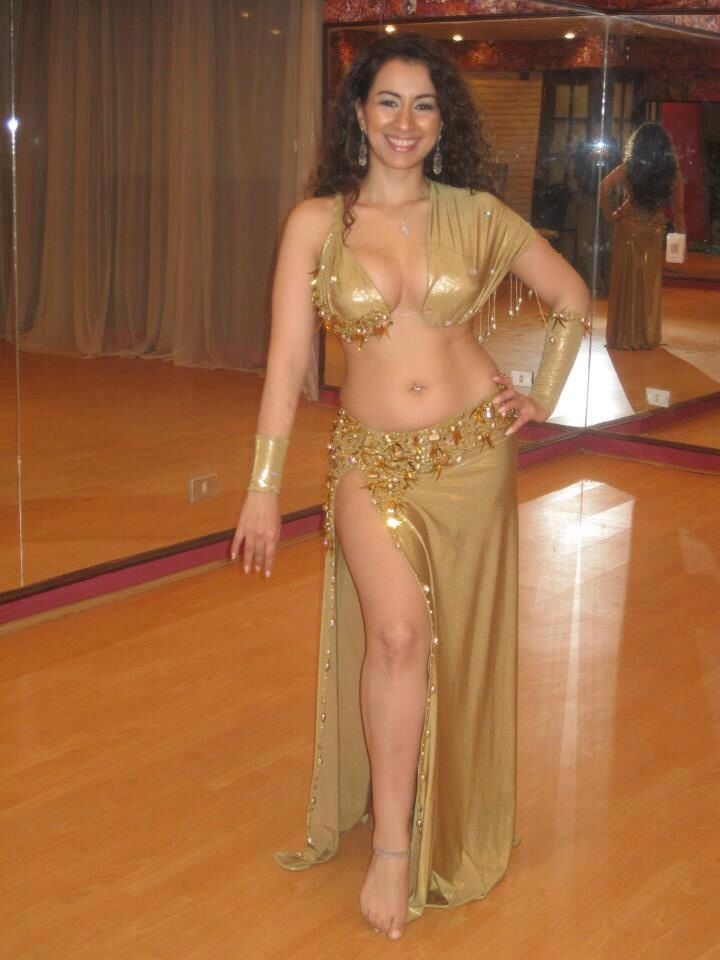 Nude belly dance very