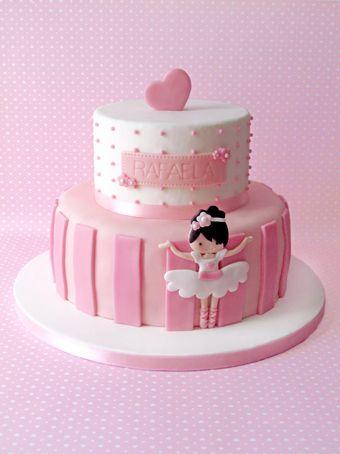 BoloBailarina1jpg 340454 pixels Ballerina cake Pinterest