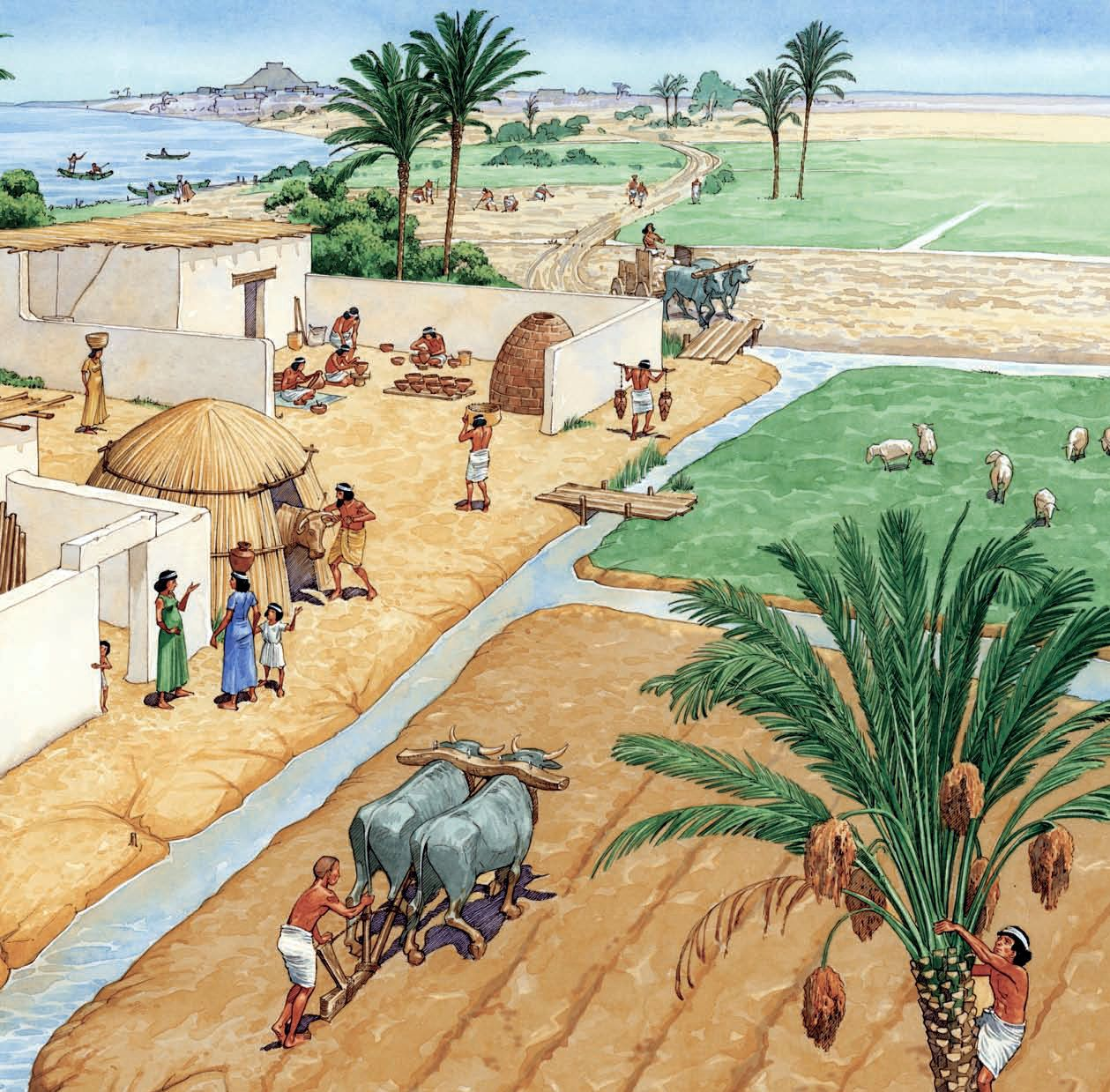 3 Early Hydraulic Civilizations Mesopotamia was developed