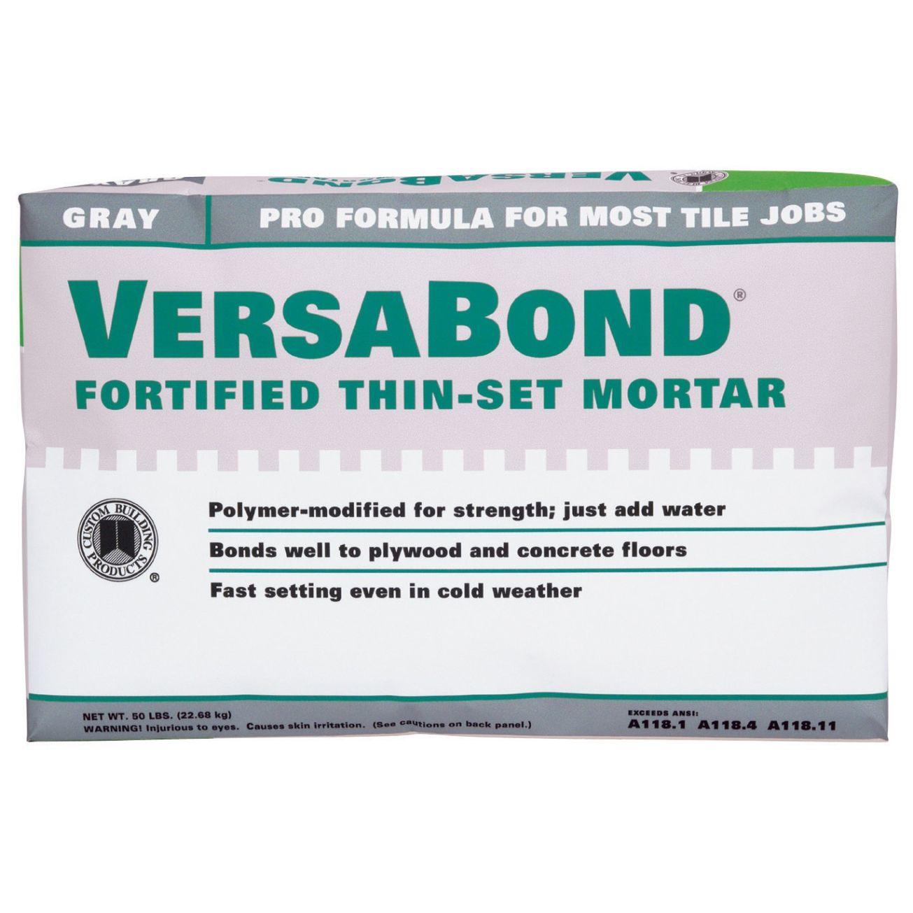 VersaBond Lb Bonding Mortar Mortars Ace Hardware Mosaic And - Custom blend thin set mortar