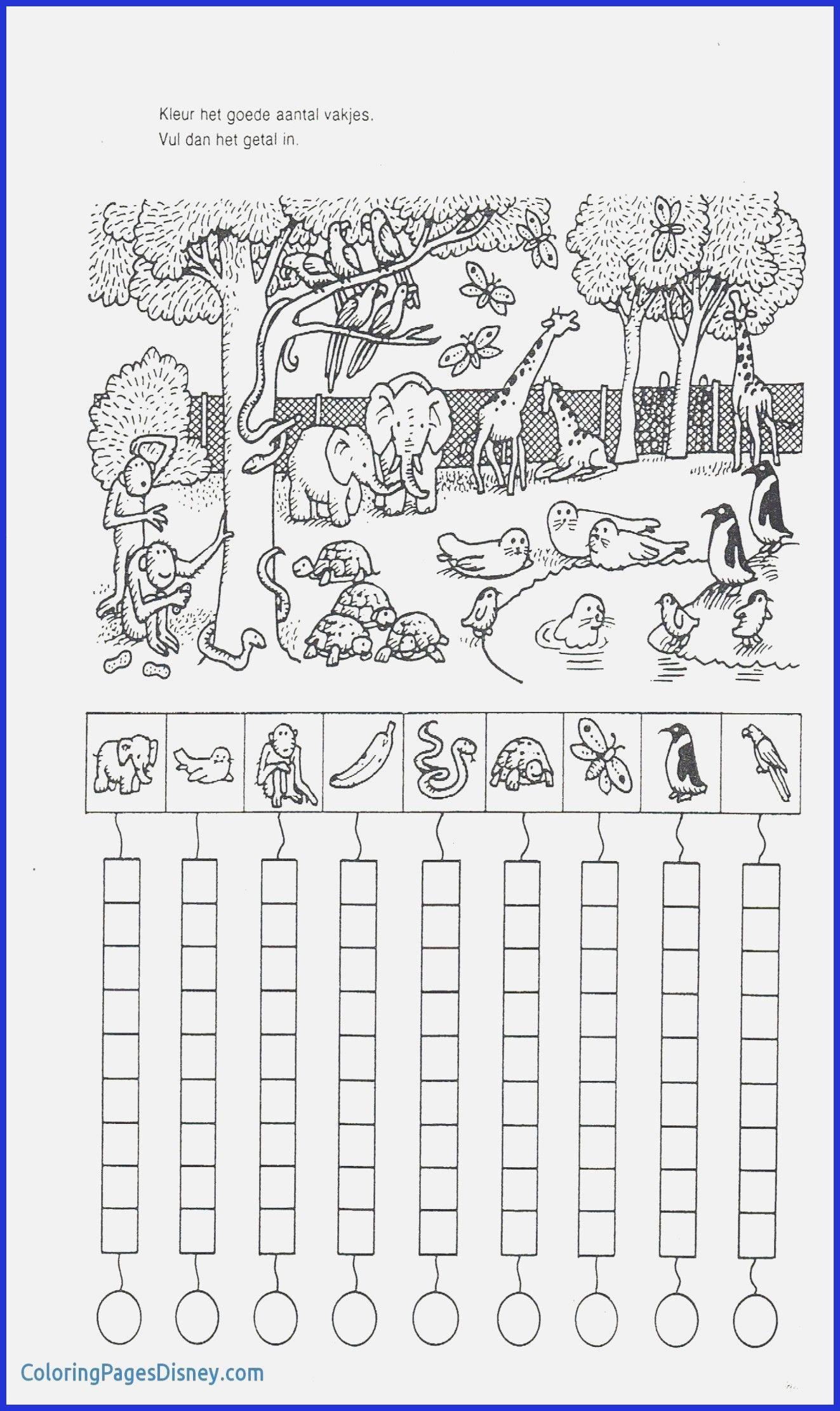 Worksheets For Preschool For Download