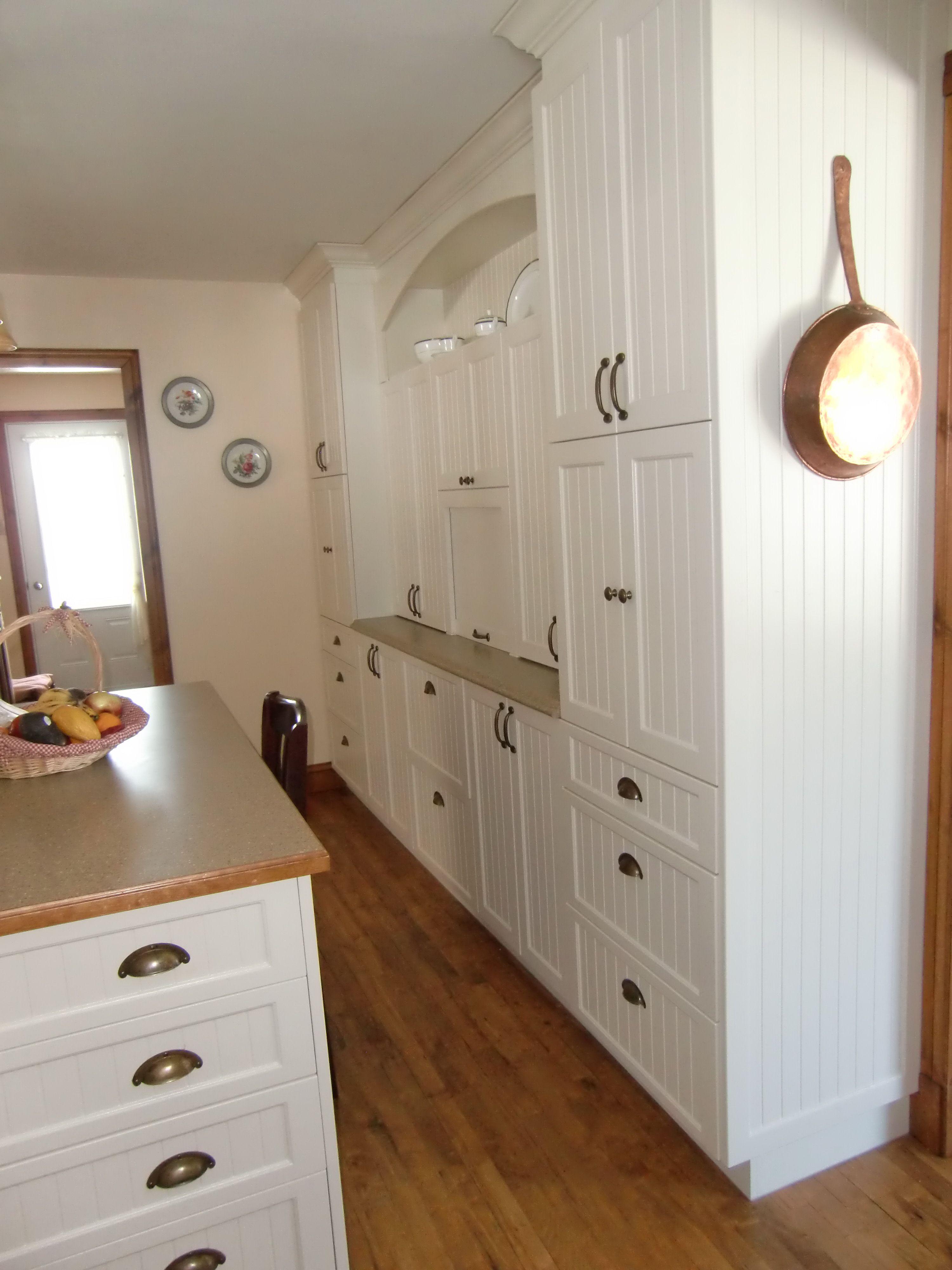Armoire de cuisine champ tre en thermoplastique armoire - Cuisine cachee par des portes ...
