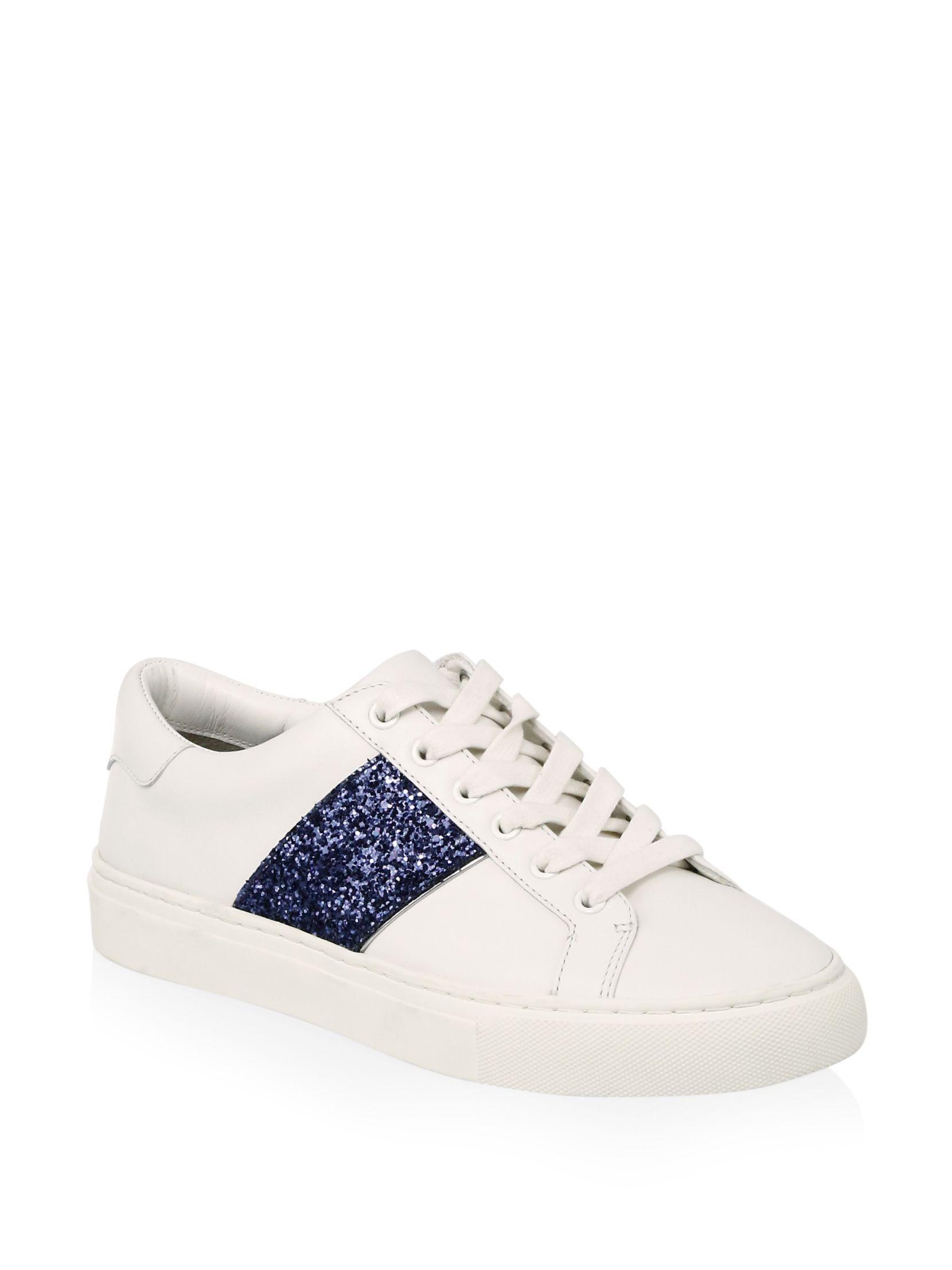Tory BurchCarter Glitter Lace-Up Sneaker Bgx3zFY93W