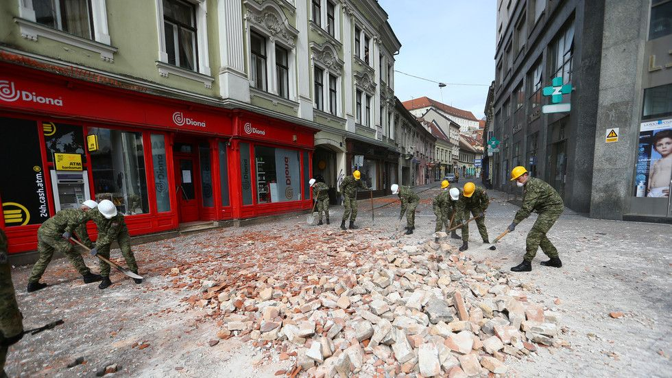 Pin On Zagreb Earthquake 2020