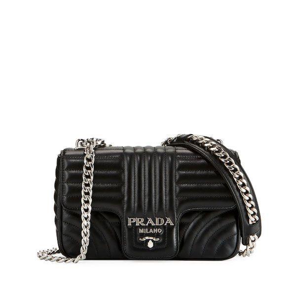 b38b077ef198 Prada Black Diagramme Small Shoulder Bag | ღ Love Bag ღ