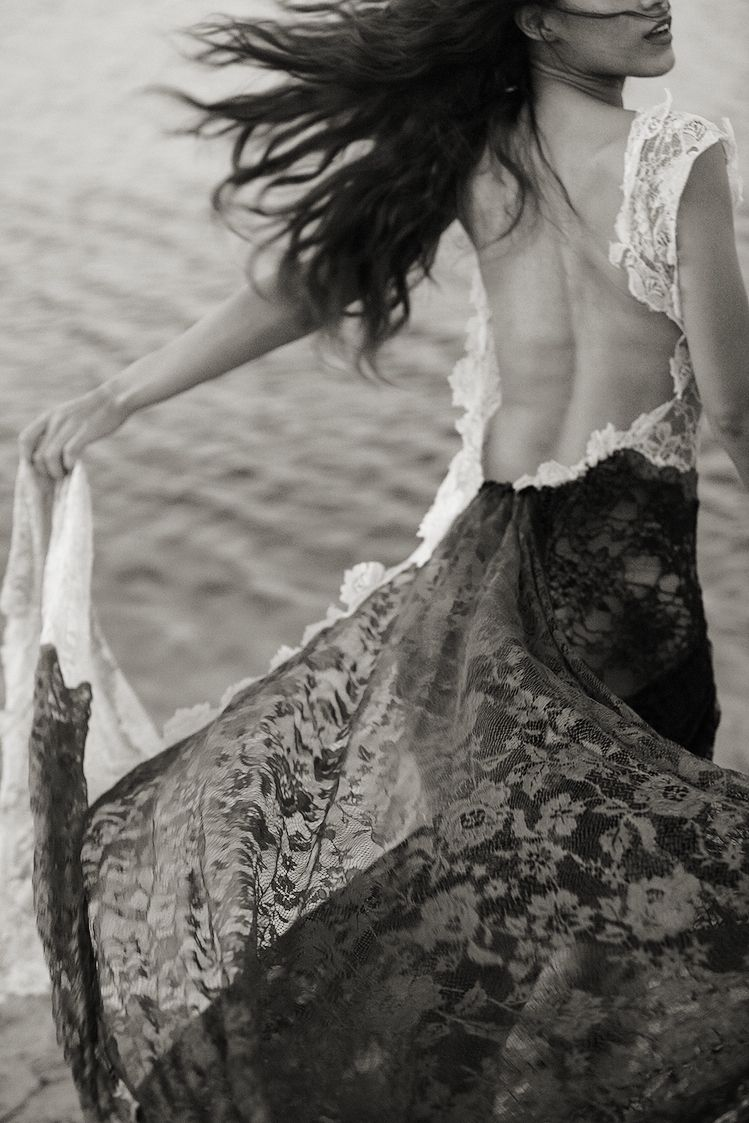 Letus get away for a while black and white pinterest fashion