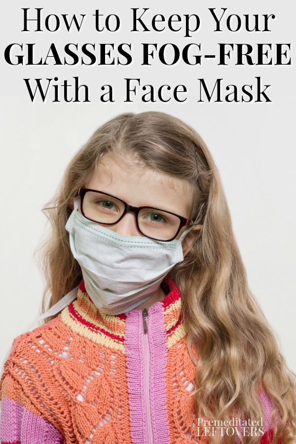How To Keep Glasses From FOGGING While Wearing A Face Mask