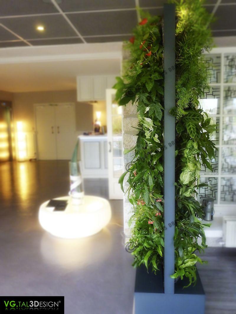 http://www.mur-vegetal-interieur.fr/   Mur végétal d\'intérieur ...