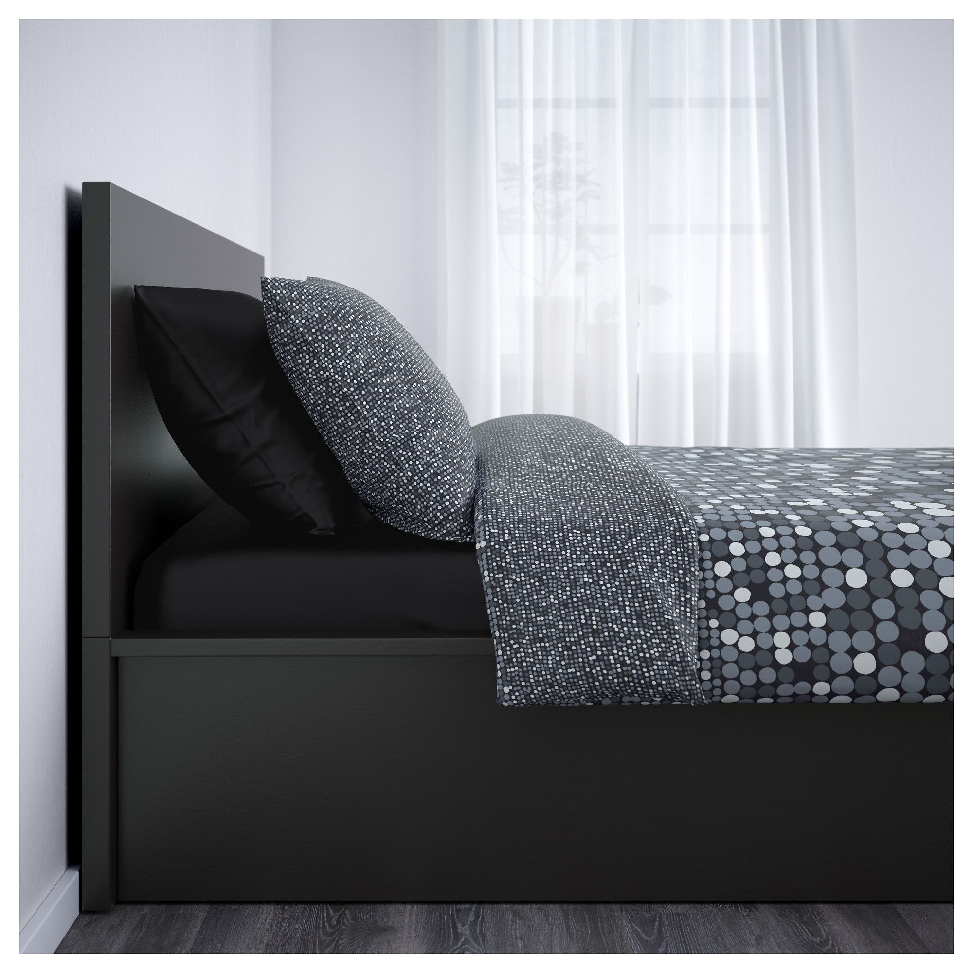 Ikea Malm Ottoman Bed Real Wood Veneer Will Make This Age Gracefully