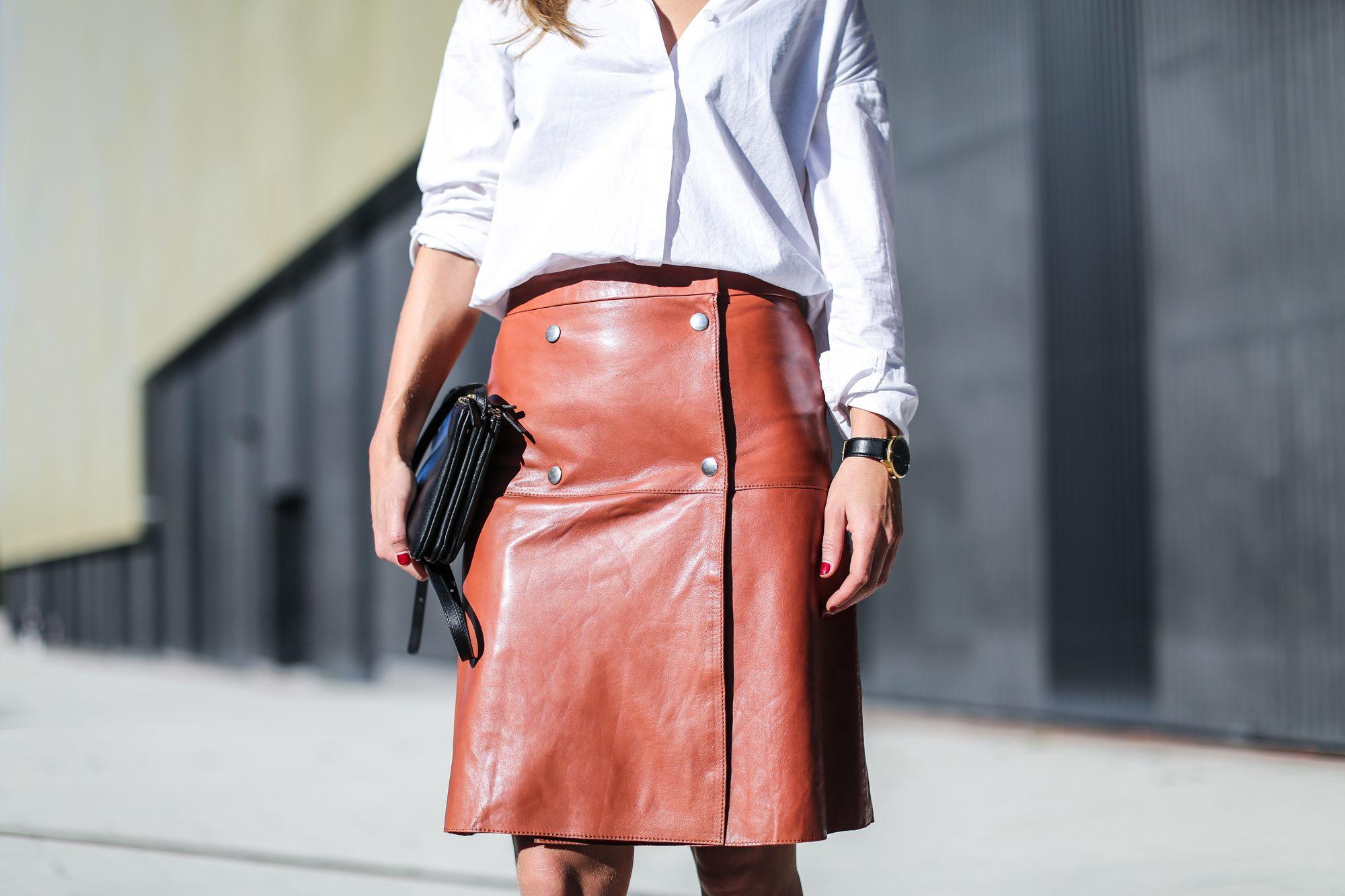 leather skirt filippa k