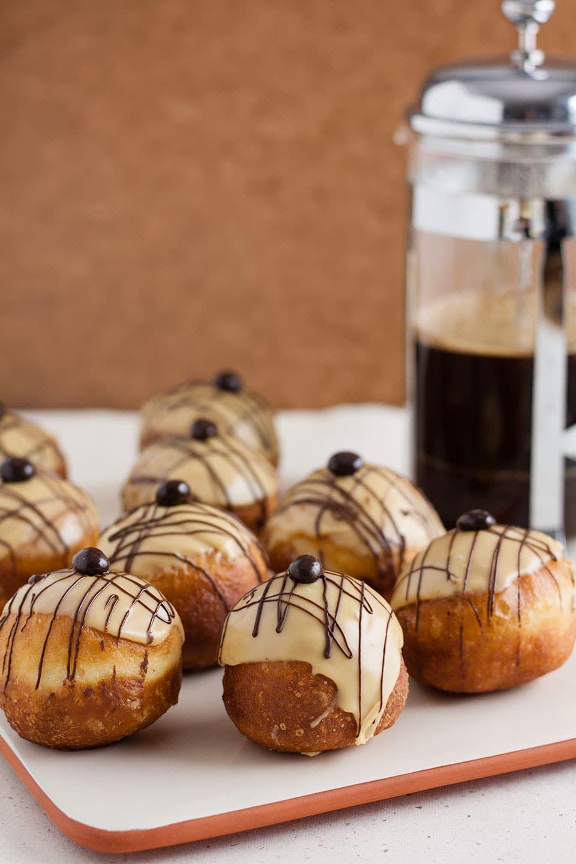 Coffee and Irish Cream Doughnuts Recipe in 2020 Irish