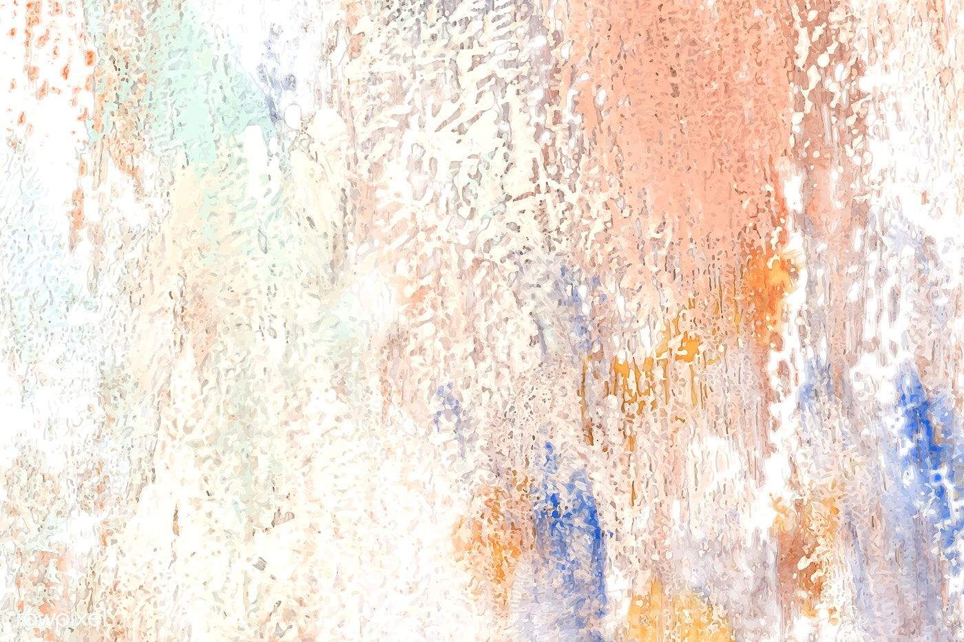 Colorful abstract brush stroke background vector free