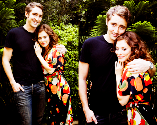 -Lee Pace and Anna Friel - I think they might just literally be the most adorable people on the planet