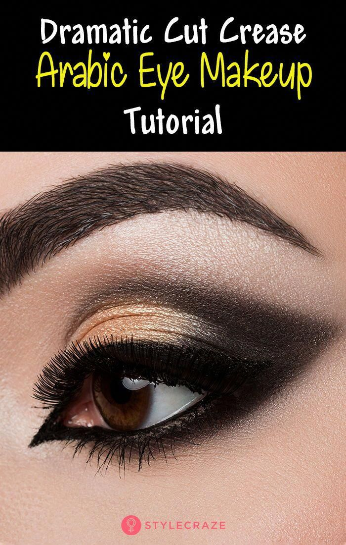 how to apply arabic eye make up