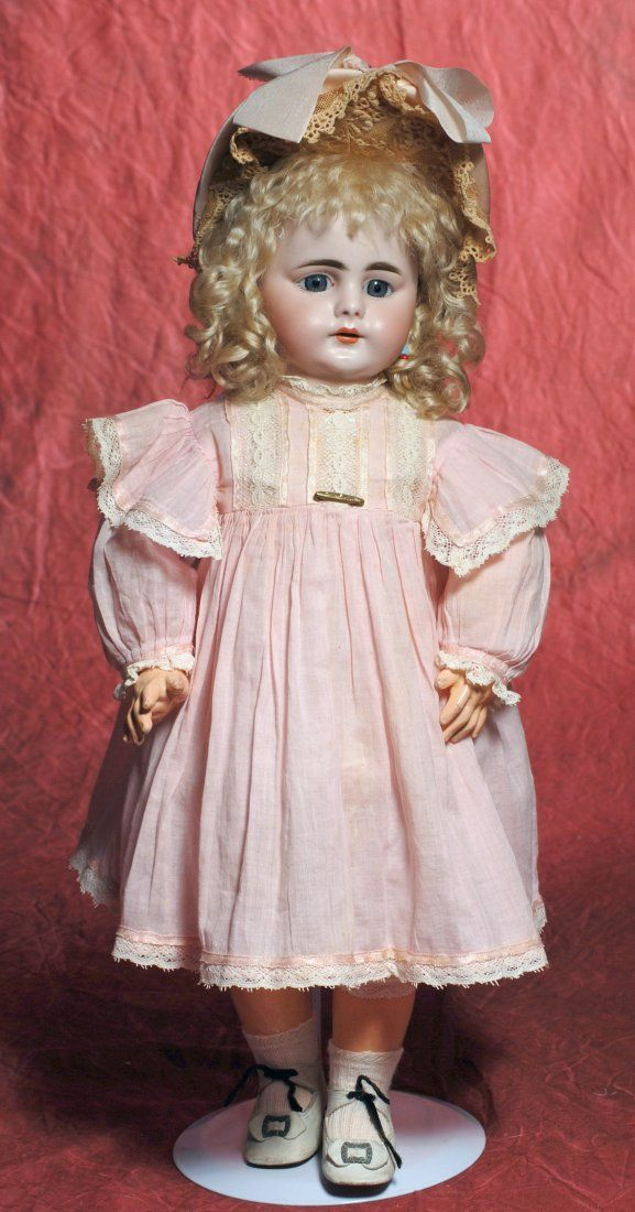 GERMAN BISQUE CHILD, 719 BY SIMON AND HALBIG