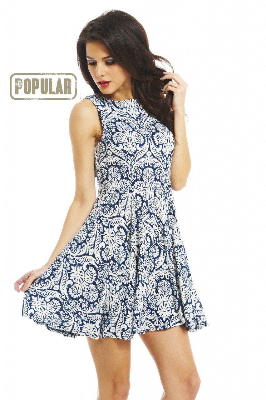french court print dress | Women Fashion Idea | Pinterest | Printing ...