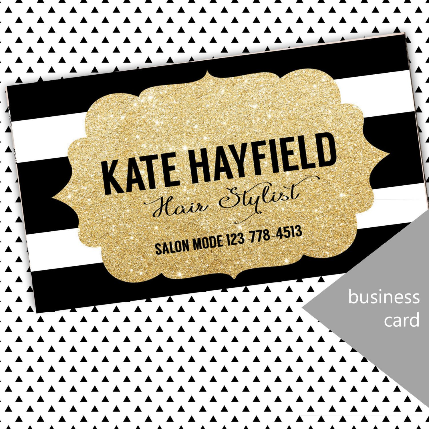 Modern business card boutique business card by TrendyDownloads ...