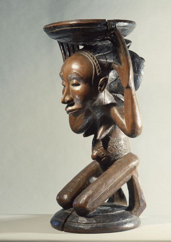 Master of Buli Caryatid Stool - now in the collection of the Private Collection - image 3
