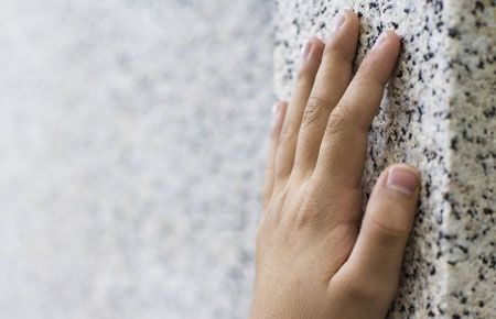 Hand On Wall