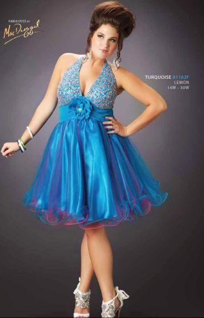 2e7da8bfc Fotos de vestidos cortos de 15 años para gorditas | vestidos de 15 ...