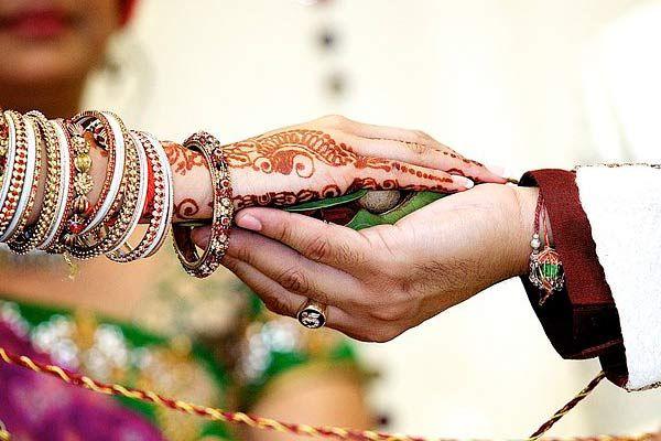 Image result for indian wedding images holding hands